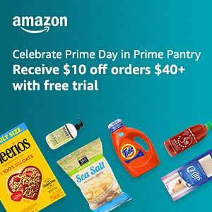 Everyday essentials, exclusive to Prime. Receive $10 off orders $40+ with free trial.