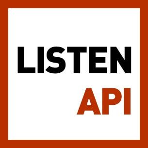 Simple and no-nonsense podcast API. Start building your podcast app now. It's the same API that powers this website.