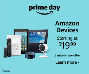 The best time of the year to buy Amazon Devices - Prime Day Deals Starting at $19.99!